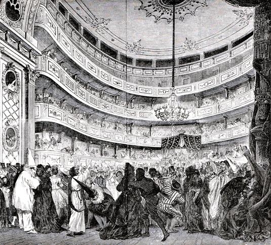 Operan Interiör