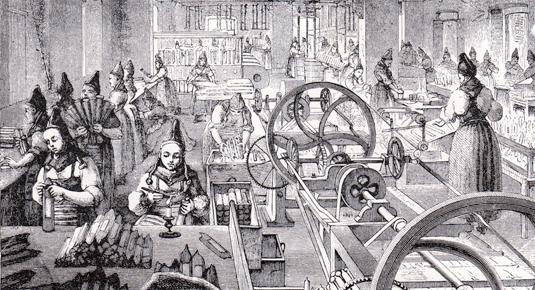 Lars Johan Hierta blev med tiden en av Stockholms rikaste män. Liljeholmens stearinfabrik var en av hans pengamaskiner.