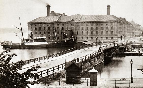 Eldkvarns brand må ha varit minnesvärd, men kvarnen byggdes upp igen och användes ända till 1902. Här ligger nu Stokholms stadshus