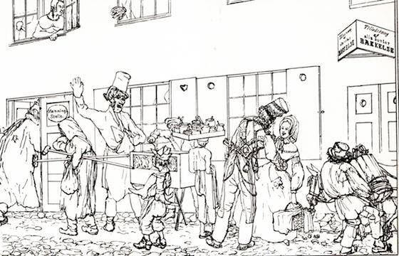 Folklivsskildrare betecknades August Blanche som. I hans berättelser vaknar det mellersta 1800-talets Stockholm till liv för läsaren.