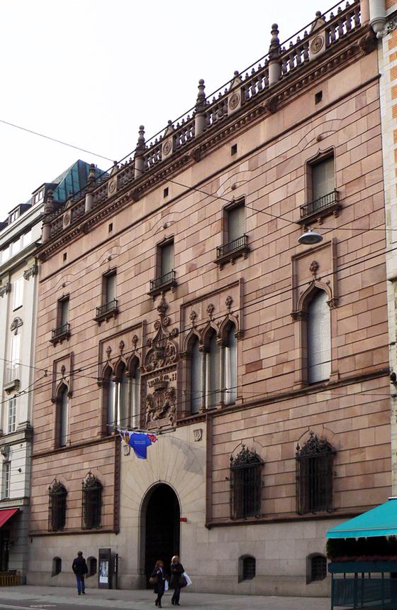 Halawylska palatset museet Stockholm Wilhelmina von Hallwyl